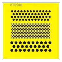 """Στένσιλ πλαστικό """"Πουά"""" 16x16εκ.  (ST0139Β)"""