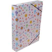 """Νext κουτί με λάστιχο """"Γράμματα & αριθμοί"""" Υ33.5x25x5εκ."""