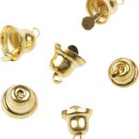 Καμπανούλα χρυσή 17mm, 10τεμ