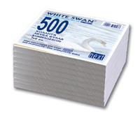 Next ανταλλακτικά φύλλα κύβου λευκά 500φυλ. 7x9εκ.