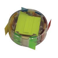 Scripti σελιδοδείκτες πλαστικοί σε βάση 48x48mm+48x25mm 50φυλ./χρωμ.
