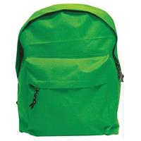 Τσάντα πλάτης πράσινη με 1 θήκη 42x32x16εκ.