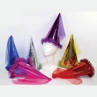 Καπέλο αποκριάτικο με λάστιχο και ύφασμα