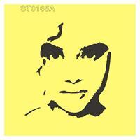 """Στένσιλ πλαστικό """"woman 's face"""" 16x16εκ.  (ST0165A)"""
