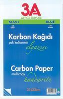 Ark χαρτί καρμπόν μπλε 50φ. 21x33εκ.