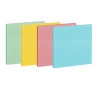 Αυτοκόλλητα χαρτάκια 4χρώματα 5x5εκ. 400φ.
