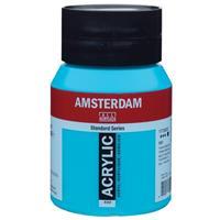 Talens amsterdam ακρυλικό χρώμα 522 turquoise blue 500ml