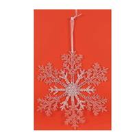 """Χριστουγεννιάτικο στολίδι  """"χιονονιφάδα"""" Υ21εκ. σε blister"""