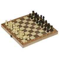 Goki σκάκι ξύλινο 30x30εκ.