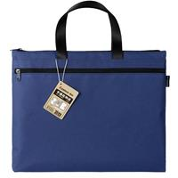 Comix τσάντα εγγράφων, 39x30.5 εκ., μπλε, με δύο θήκες