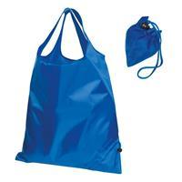 Τσάντα για ψώνια από πολυεστέρα μπλε 37,5x0,3x48εκ.