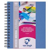 Talens Van gogh mix media journal  A5 50φυλ. 160 γρ.