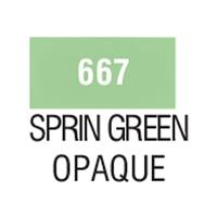 Talens χρώμα decorfin textile 667 spring green opaque 16ml