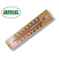 Θερμόμετρο ξύλινο 14x3εκ.