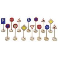 Goki σήματα οδικής κυκλοφόριας σετ 15 τεμαχίων
