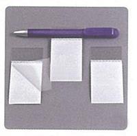 Αυτοκόλλητη βάση για στυλό πλαστική  8x5εκ. (100τεμ)
