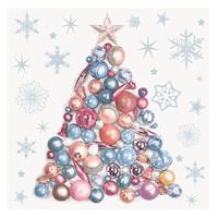 """Χαρτοπετσέτες 20τεμ. 33x33εκ """"Χριστουγ. δέντρο από μπάλες"""" (SD_GW_009301)"""