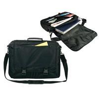 Τσάντα laptop πολυέστερ μαύρη Υ31x42x11εκ.