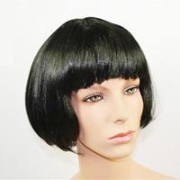 Περούκα καρέ μαλλιά μαύρη