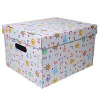 """Νext κουτί """"Γράμματα & αριθμοί"""" Α4 Υ19x30x25,5εκ."""