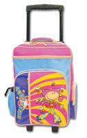 Τσάντα τρόλευ δημοτικού από νάυλον 49x34x19εκ.