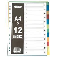 Comix διαχωριστικά πλαστικά Α4, 1-12 θέματα