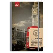 Gallery ημερολόγιο εβδομαδιαίο flexi λάστιχο 14x21εκ, Big Ben