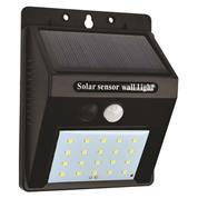 Φωτιστικό τοίχου φωτοβολταϊκό με φωτοκύτταρο 0,55W 6500Κ 9,8x12,6x5εκ.