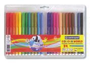 Centropen μαρκαδόροι ζωγραφικής washable 1mm 24 χρώματα