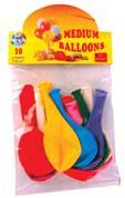"""Μπαλόνια 12'' """"standard"""" 10τεμ."""