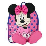 """Bagtrotter τσάντα νηπίου """"Minnie"""" με 1 θήκη Υ31x25x11εκ."""