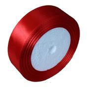 Κορδέλα σατέν με ούγια κόκκινη 2,5εκ. x 22μ.