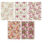 """Χαρτί περιτυλίγματος ρολό 70x100εκ. """"Floral mix"""" (P1_OG_179)"""