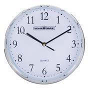 Ρολόι τοίχου λευκό Ø26εκ.