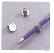 Αυτοκόλλητη βάση για στυλό μεταλλική Ø2εκ. (100τεμ)