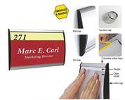 Σύστημα τοποθέτησης επιγραφών 148x300mm (door sign)
