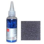 Glitter σκόνη 1/64'' σε μπουκάλι μπλε 40γρ.