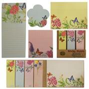 Αυτοκόλλητα χαρτάκια σημειώσεων πεταλούδες 6 σχέδια