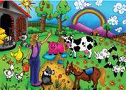 "Next παζλ ""Η ζωή στο αγρόκτημα"" 35x50εκ. 48 τεμαχίων"