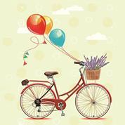 """Χαρτοπετσέτες 20τεμ. 33x33εκ """"ποδήλατο"""" (SLOG42201)"""