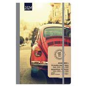 Gallery ημερολόγιο ACADEMIC+ εβδομαδιαίο flexi με λάστιχο 14x21εκ, Σκαραβαίος