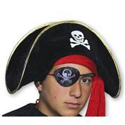 Καπέλο πειρατή μαύρο
