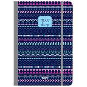Gallery ημερολόγιο εβδομαδιαίο flexi λάστιχο 17x25εκ, Αραβικό μπλε