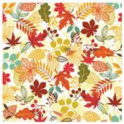 """Χαρτοπετσέτες 20τεμ. 33x33εκ """"Φθινοπωρινά φύλλα"""" (SDOG 018201)"""