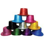 Καπέλα glitter ημίψηλα σε διάφορα χρώματα