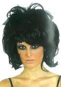 Περούκα emo μαύρη