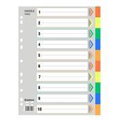 Comix διαχωριστικά πλαστικά Α4, 1-10 θέματα