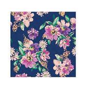 """Χαρτοπετσέτες 20τεμ. """"μοτίβο με λουλούδια σε σκούρο μπλε"""" 33x33εκ. (SDOG 029401)"""