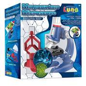 Luna εκπαιδευτικό Μικροσκόπιο 100χ-1200χ 28mm με βάση κινητού