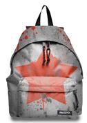 Extreme τσάντα δημοτικού γκρι αστέρι με 2 θήκες 43x32.5x13.3εκ.